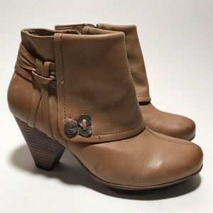 OTBT Brown leather Ballard Ankle boots Sz. 7.5